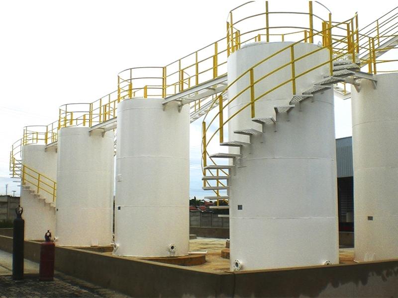 R.T.B.C.R - Reservatório Tubular Baixa com Fundo Reto